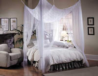 "Mosquito Net Bed Canopy - Mombasa ""Majesty"""