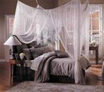 "Mosquito Net Bed Canopy - Mombasa ""Majesty Twin"""