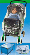 Mosquito Net Cover - Baby Stroller/Carrier