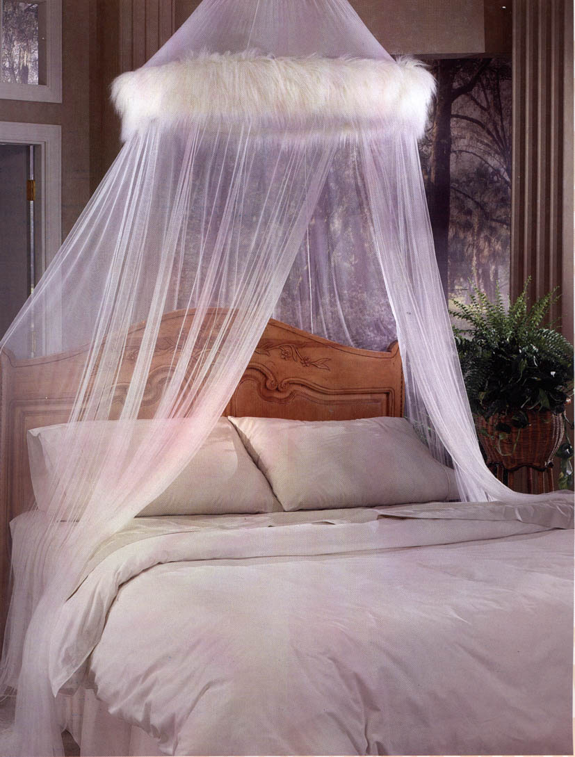 how to make a mosquito net for bed